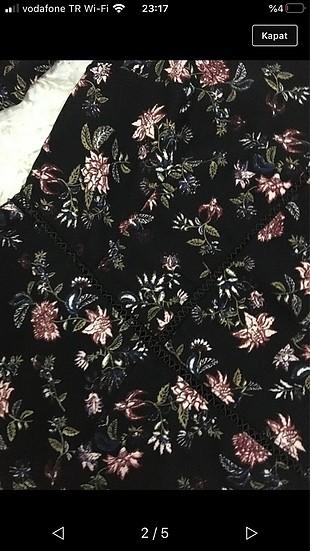 s Beden siyah Renk Çiçekli tulum