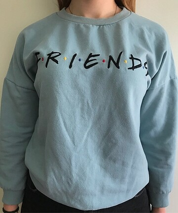 Topshop mavi sweatshirt