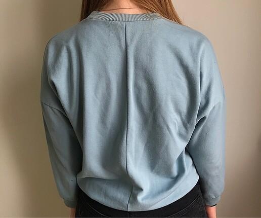 Topshop Topshop mavi sweatshirt