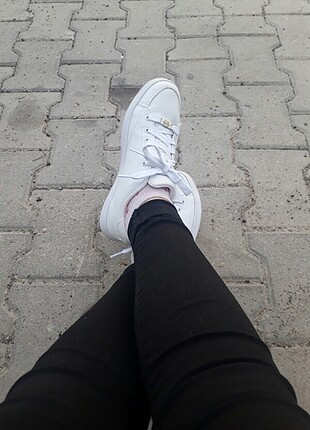 Kinetix beyaz spor ayakkabi