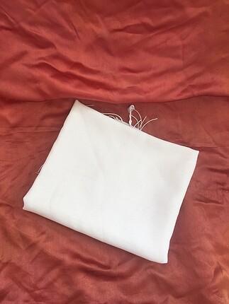 Zara Beyaz şal