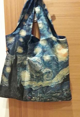 Van Gogh Yıldızlı Geceler naylon çanta