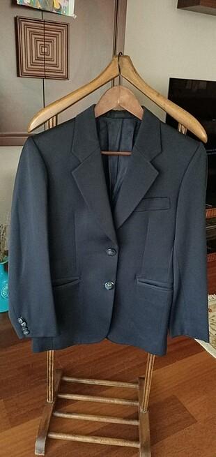 Lacivert blazer ceket