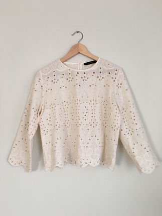 Zara basic bluz
