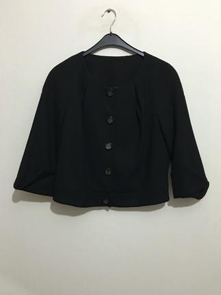Siyah jakar ceket