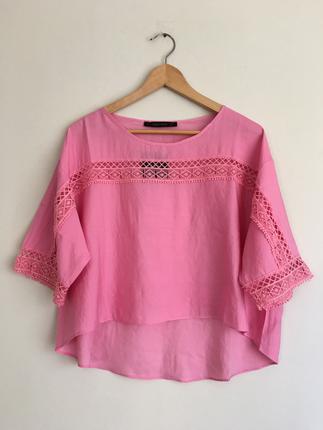 Pink bluz