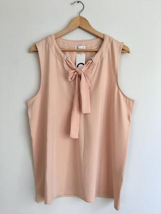 Somon renk bluz
