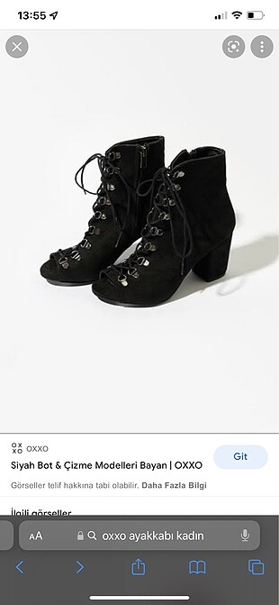 Oxxo bağcıklı ayakkabı