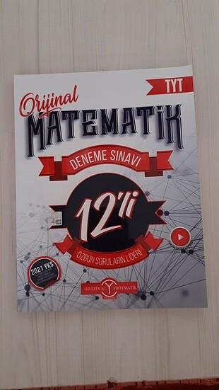 orijinal yayınları tyt matematik 12li deneme