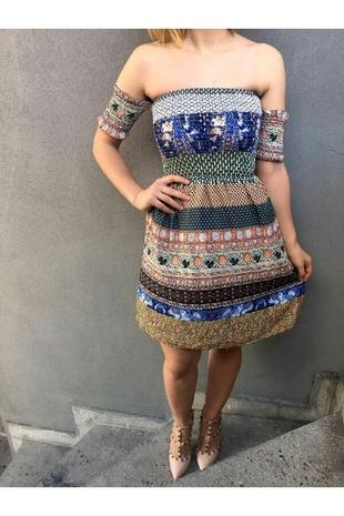 madonna yaka elbise