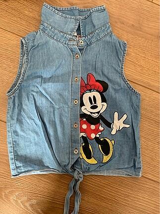 Minnie mouse kot gömlek