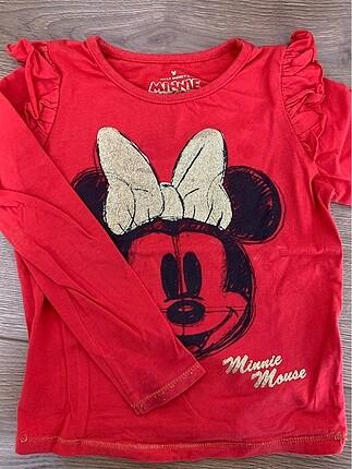 Minnie mouse kız çocuk tişört