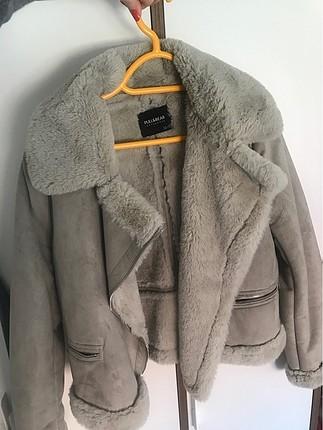 Pull and bear Kürklü ceket