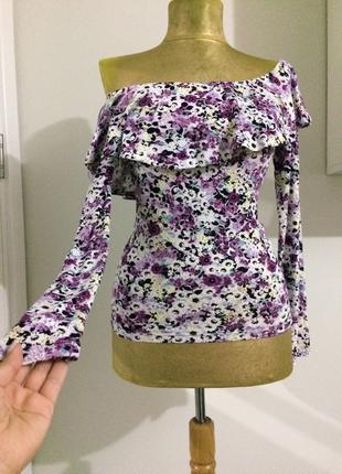 Gina çiçekli bluz