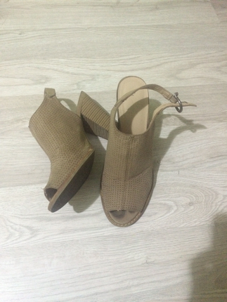 Deichmann kalın topuklu ayakkabı