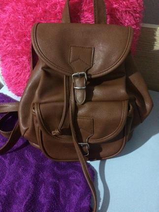 Deri sırt çantası