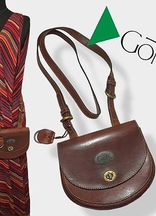 GÖN DERİ /// Hand Made Crossbody Bag