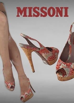 MISSONI Cloth Heels Pump