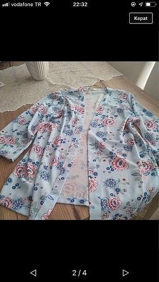 Baharlık hırka kimono