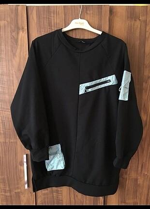 Spor Tunik sweatshirt uzun
