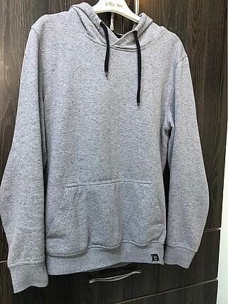 Defacto gri sweatshirt