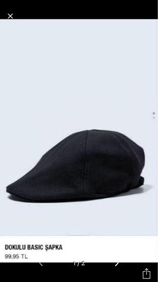 Zara siyah şapka