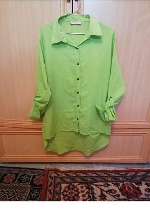venice yeşil xl beden gömlek hiç kullanılmammıştır