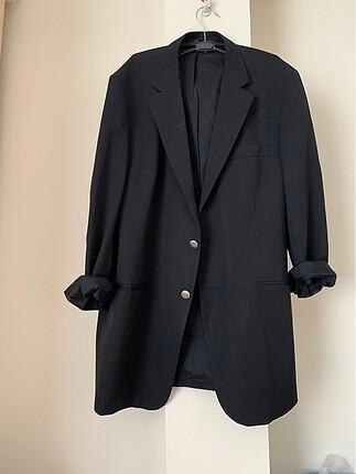 Siyah Altınyıldız ceket vintage