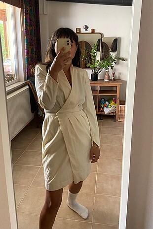 Vintage ceket elbise