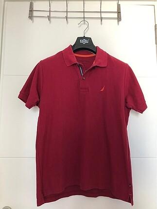Nautica Polo Yaka Erkek Classic Fit T-shirt (M)