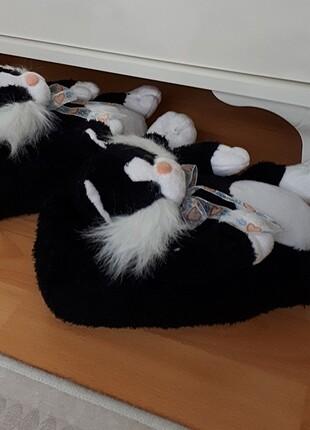 Peluş ev ayakkabısı