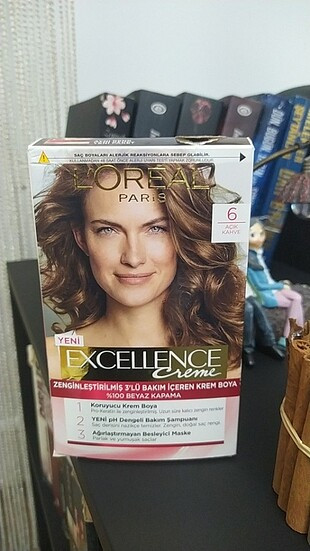 Loreal Paris Loreal saç boyası