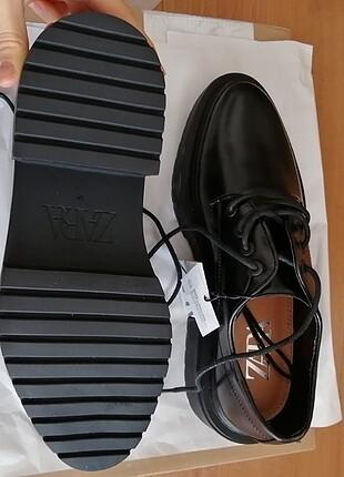 38 Beden siyah Renk Zara Ayakkabı