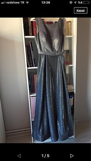 Riccü abiye gece elbisesi