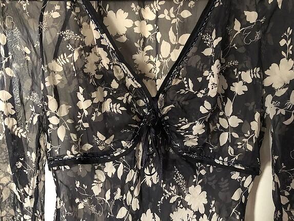 m Beden siyah Renk Şık Bluz