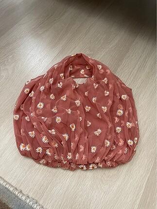 Zara tül çanta