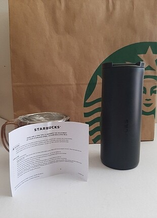 Starbucks çelik termos 355ml