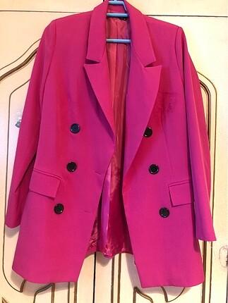 Trendyol pembe ceket