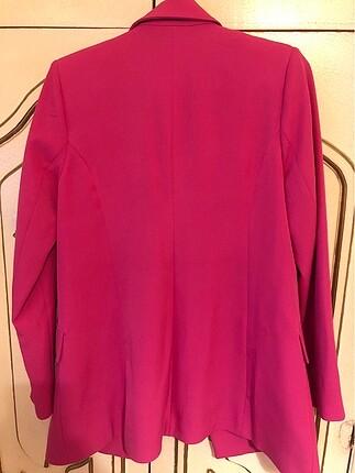 34 Beden pembe Renk Trendyol pembe ceket