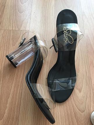 Zara Şeffaf ayakkabı