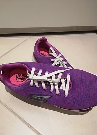 Mor Skechers Spor ayakkabı