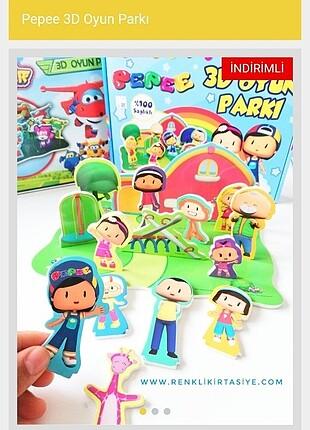 Pepe 3D Oyun Parkı - 12 parça