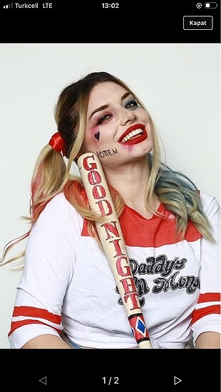 Harley quin üst