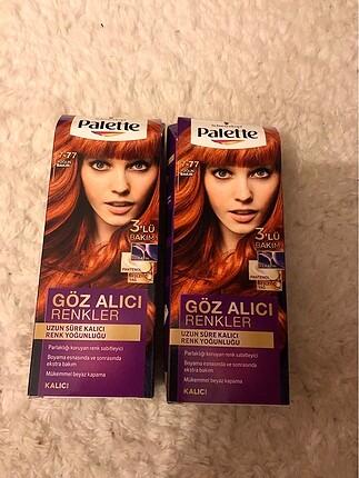 Palette 7.77 yoğun bakır saç boyası