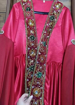 Bindallı kına elbisesi