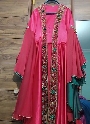 m Beden Bindallı kına elbisesi