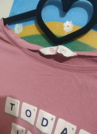 Penti Pembe uzun kollu t-shirt