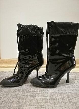 Miu Miu Rugan Kadın Çizme (Orjinal)