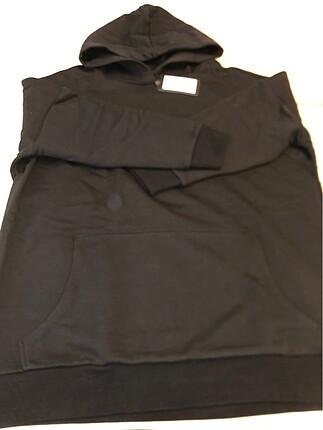 36-38 bedene uyumlu Oversize kapşonlu Sweatshirt