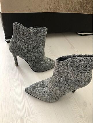 Bambi Yaldızlı topuklu ayakkabı